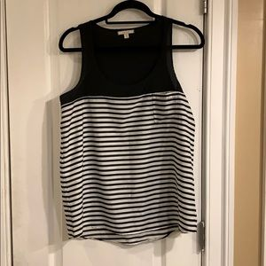 Cute Black and white top